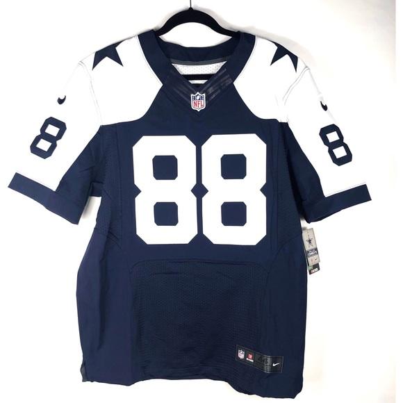 27bf7777413 ... cheapest nike dallas cowboys elite jersey sewn dez bryant 7274a 7b1cb